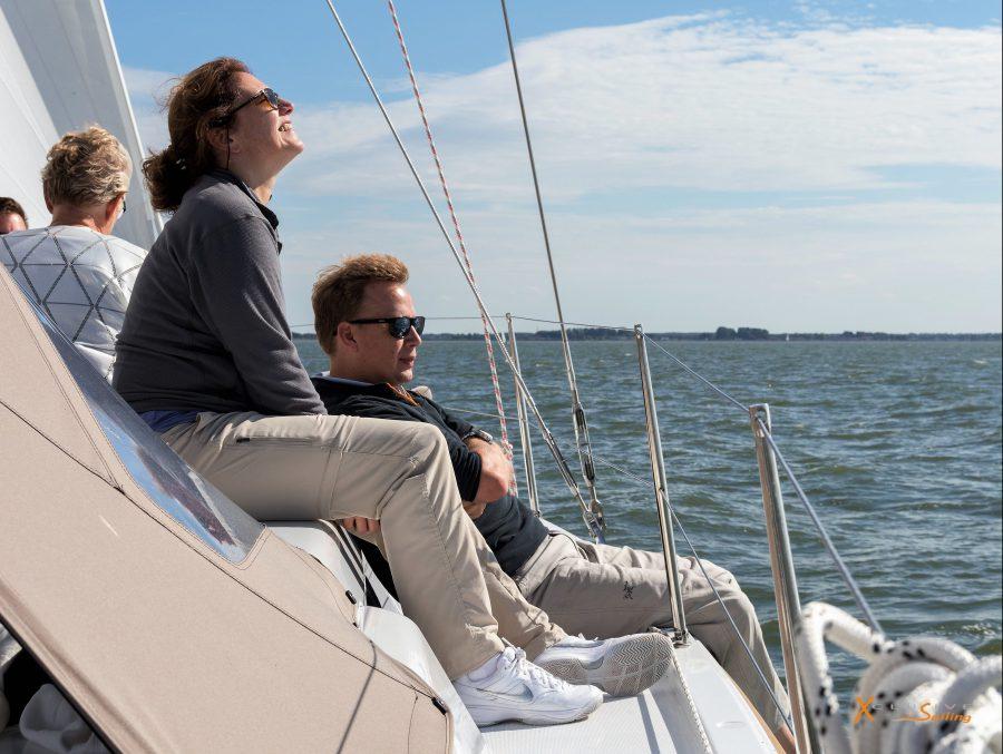 Xclusive Sailing Genieten op dek