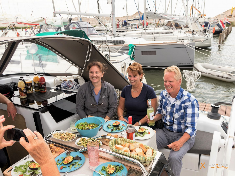 Xclusive Sailing Uitgebreide Lunch aan boord - Copy