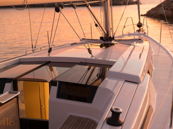 Xclusive Sailing Zeiljacht Hanse 418 Dek