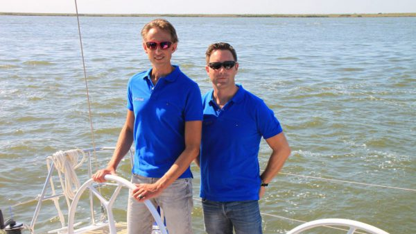 Emiel & Alex, skippers and owners of Xclusive Sailing